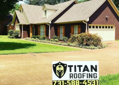 Residential roofing contractors Jackson TN