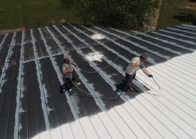 Metal roofing coating Jackson Tn